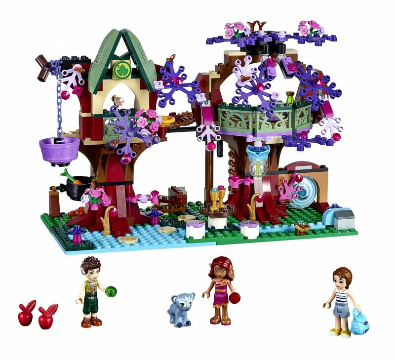 41075 The Elves' Treetop Hideaway 505pcs