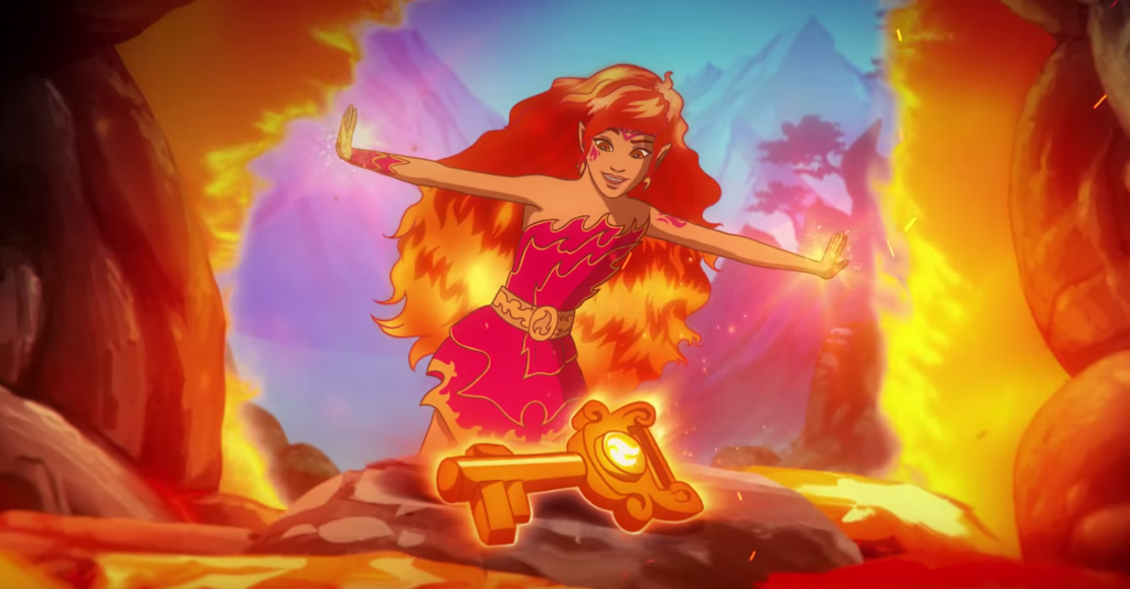 LEGO Elves Azari Firedancer