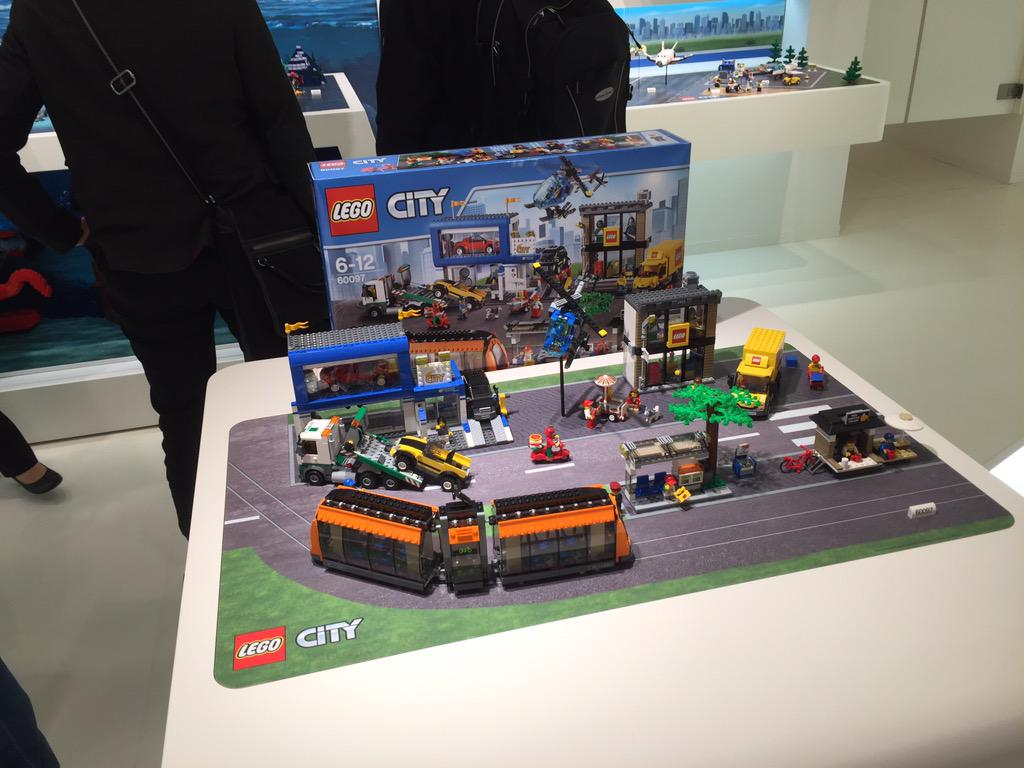 Nuremberg Toy Fair - LEGO 60097 Town Square