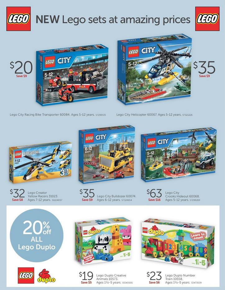 Target LEGO Sale February 2015