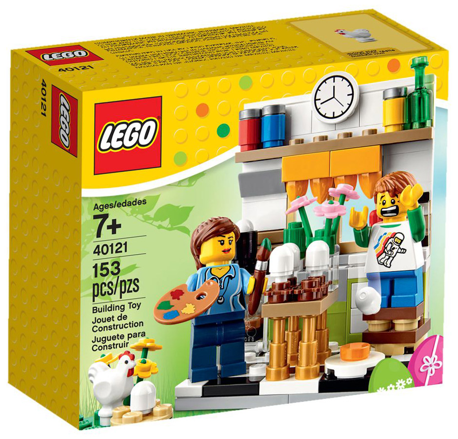 LEGO 40121 Painting Easter Eggs Box