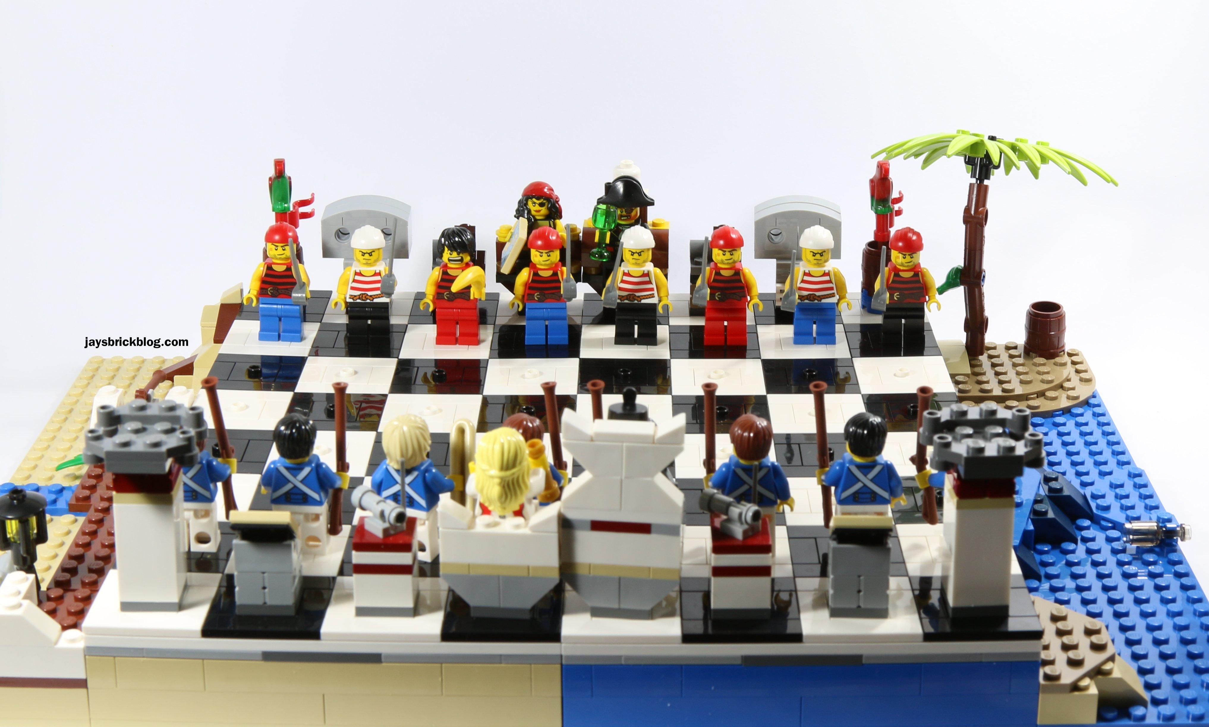 набор лего шахматы пираты желаем