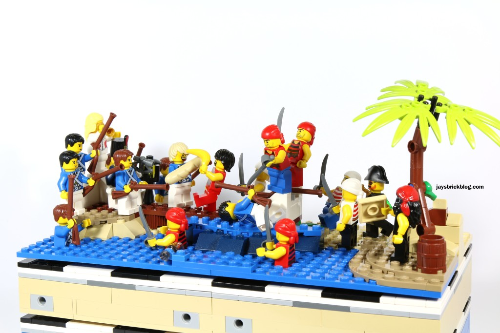 LEGO 40158 Pirates Chess Set Batle Scene