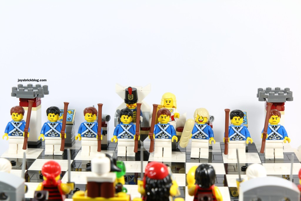 LEGO 40158 Pirates Chess Set - Bluecoats