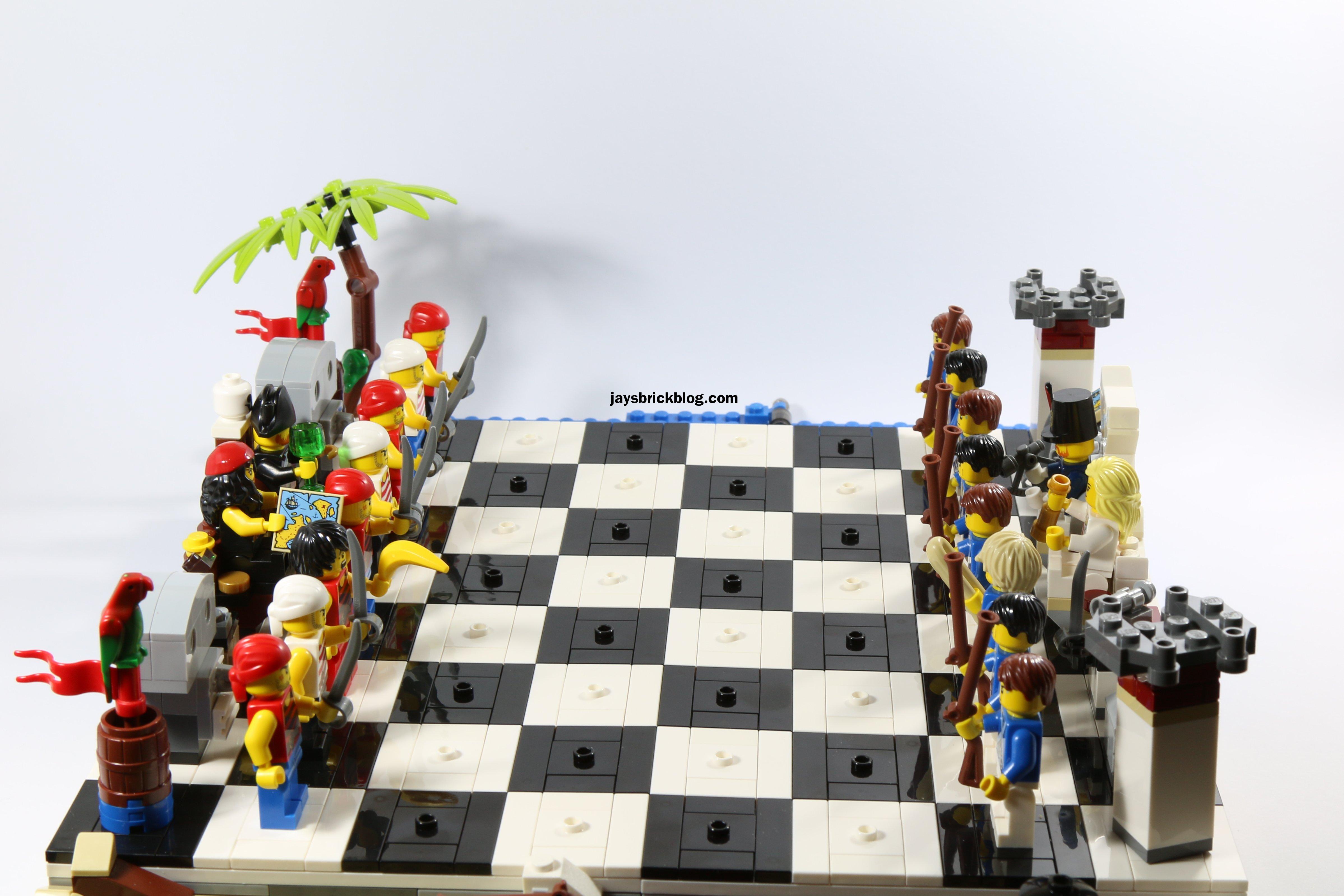 LEGO 40158 Pirates Chess Set   Board