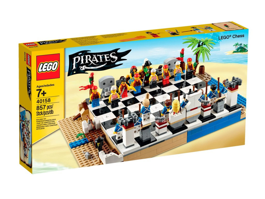 LEGO 40158 Pirates Chess Set - Box