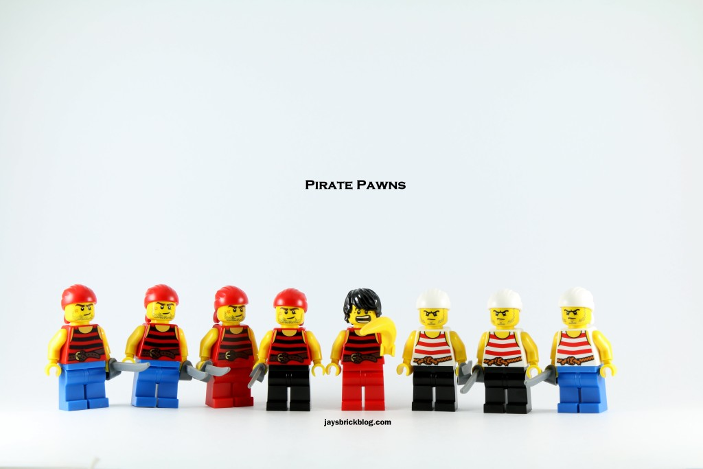 LEGO 40158 Pirates Chess Set - Pirate Pawn Minifigures
