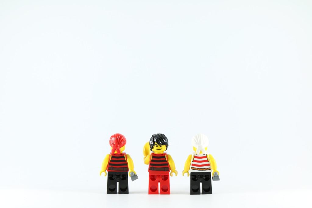 LEGO 40158 Pirates Chess Set - Pirate Pawn Minifigures Back