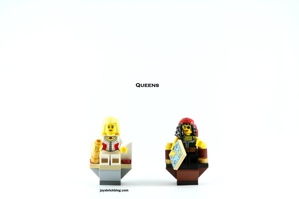 LEGO 40158 Pirates Chess Set - Queens