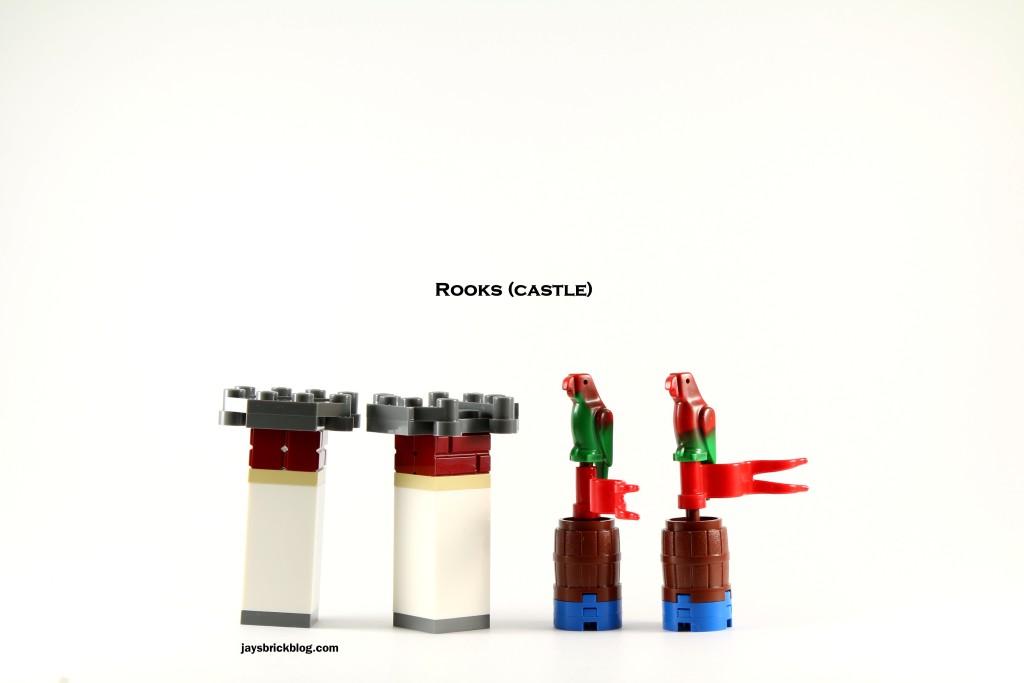 LEGO 40158 Pirates Chess Set - Rooks Castles