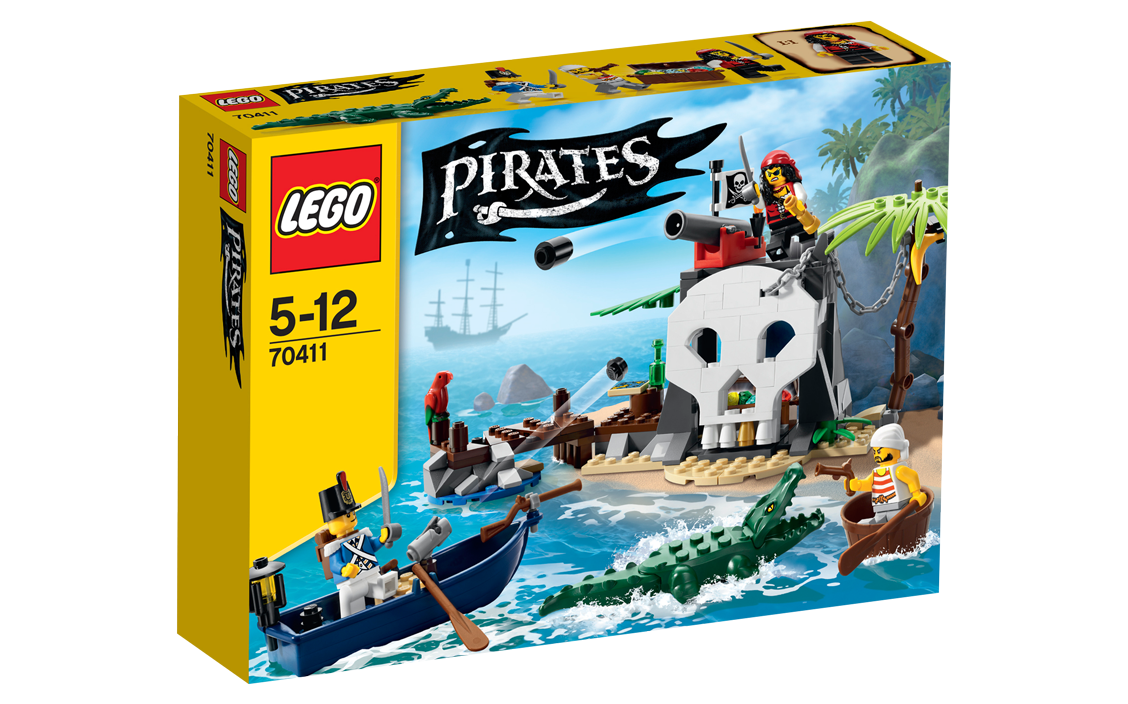 Review Lego 70411 Treasure Island