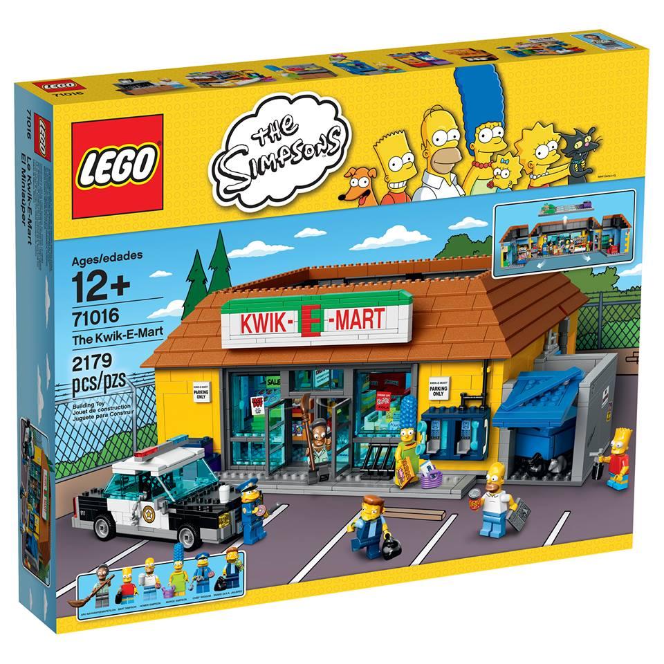 LEGO 71016 Kwik-E-Mart Box