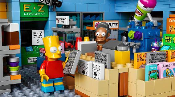 LEGO 71016 Simpsons Kwik E Mart - Bart at Counter