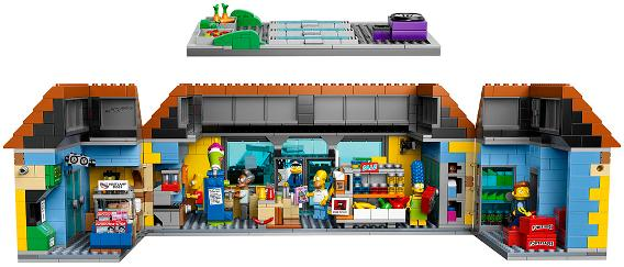 LEGO 71016 Simpsons Kwik E Mart - Interior