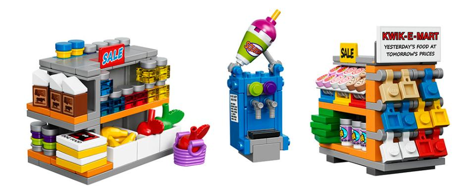 LEGO 71016 Simpsons Kwik E Mart - Minifigures  (2)