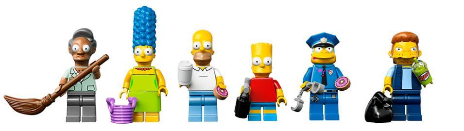 LEGO 71016 Simpsons Kwik E Mart - Minifigures