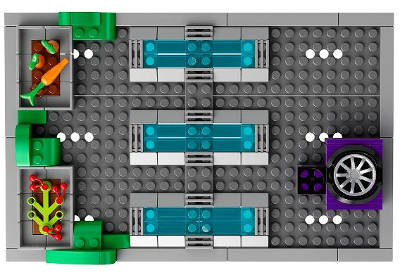 LEGO 71016 Simpsons Kwik E Mart - Rooftop Garden