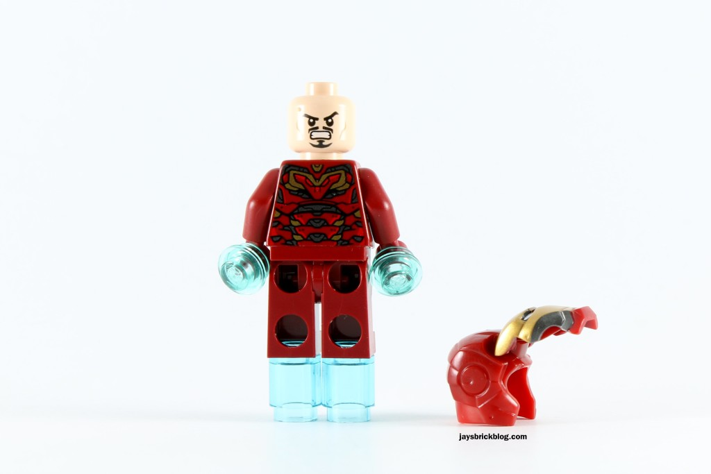LEGO 72029 Iron Man vs Ultron - Alternate Tony Stark Face MK45