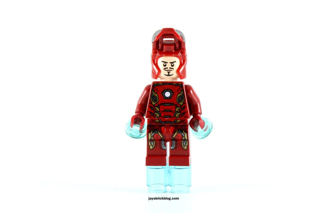 LEGO 72029 Iron Man vs Ultron - Iron Man MK45 Tony Stark Face
