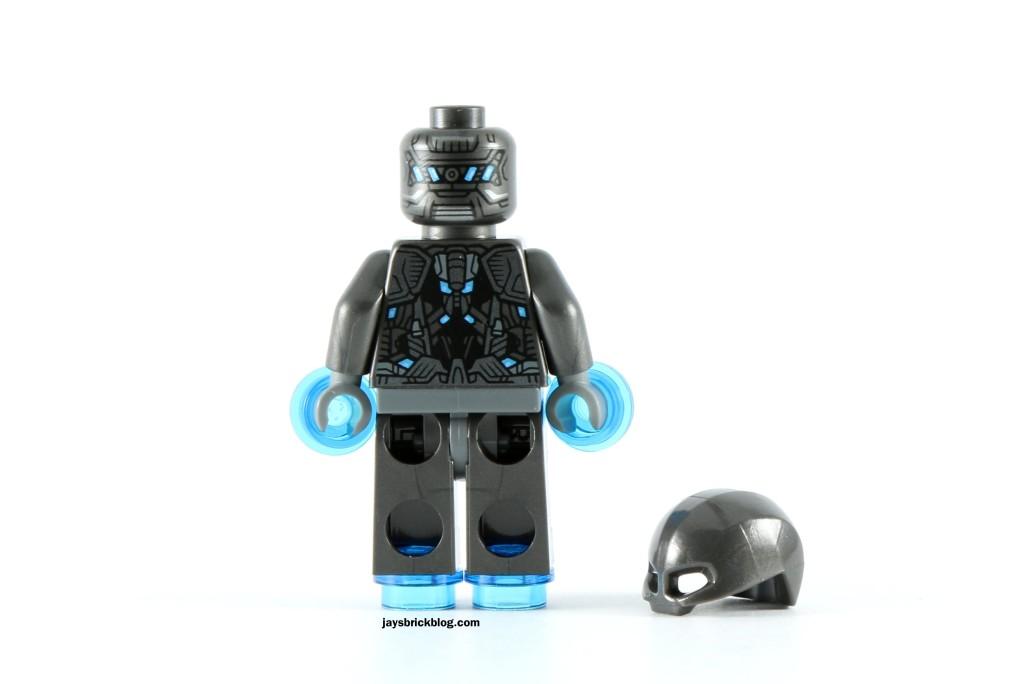 LEGO 72029 Iron Man vs Ultron - Ultron Sentry Minifig Back