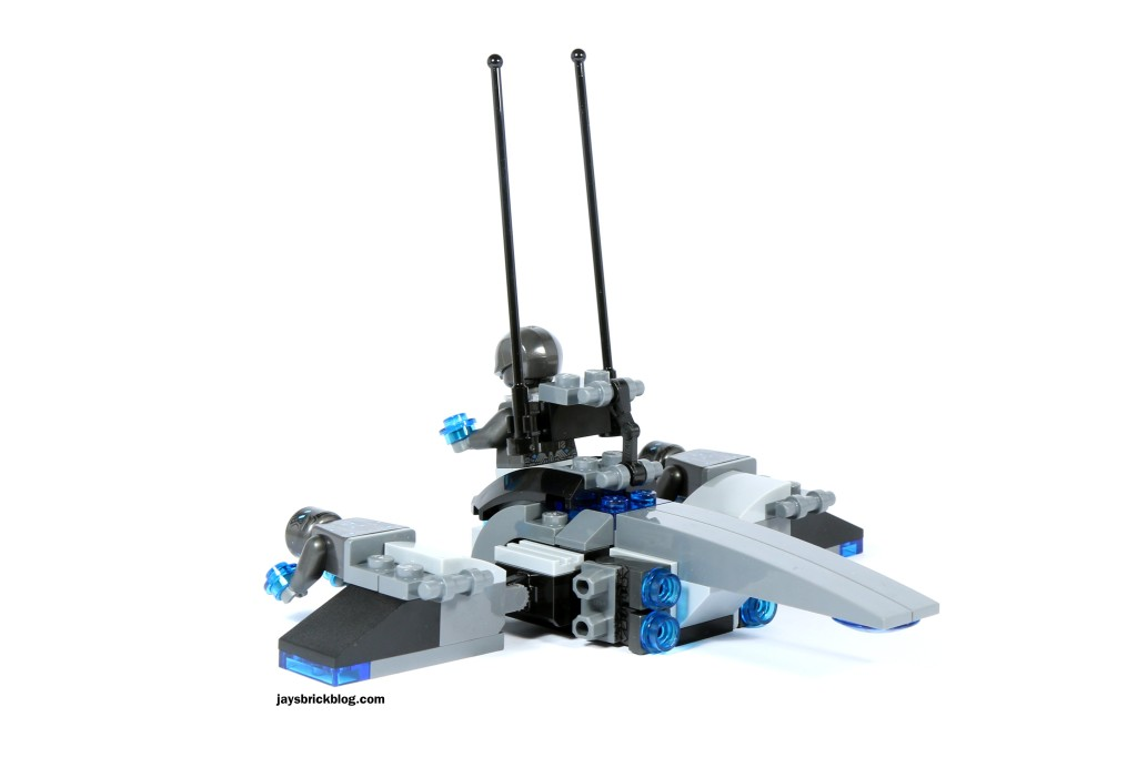 LEGO 72029 Iron Man vs Ultron - Vehicle Back View