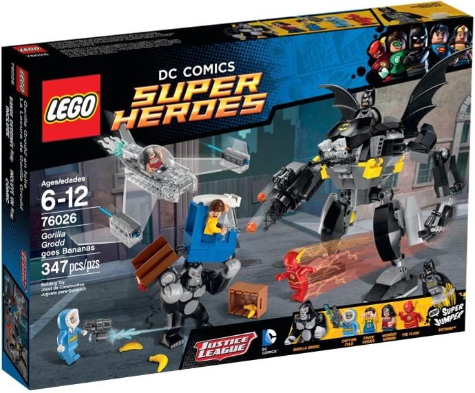 LEGO 76026 Gorilla Grodd Goes Bananas Box