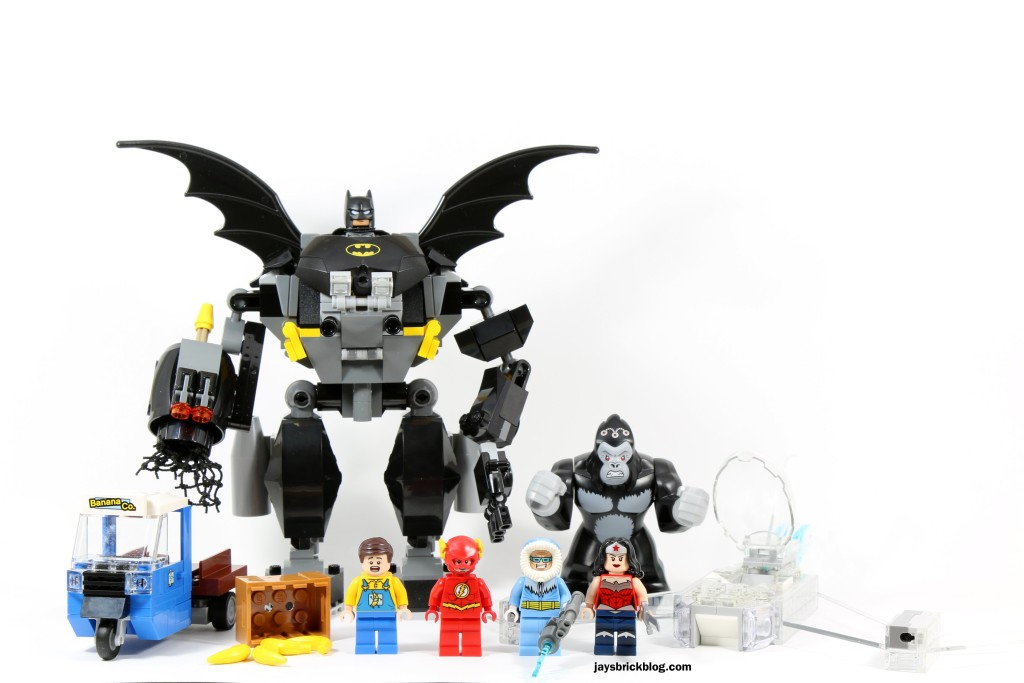 Review: LEGO 76026 Gorilla Grodd Goes Bananas