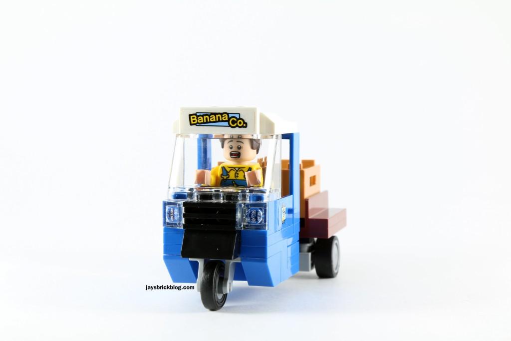LEGO 76027 Gorilla Grodd Goes Bananas - Banana Truck