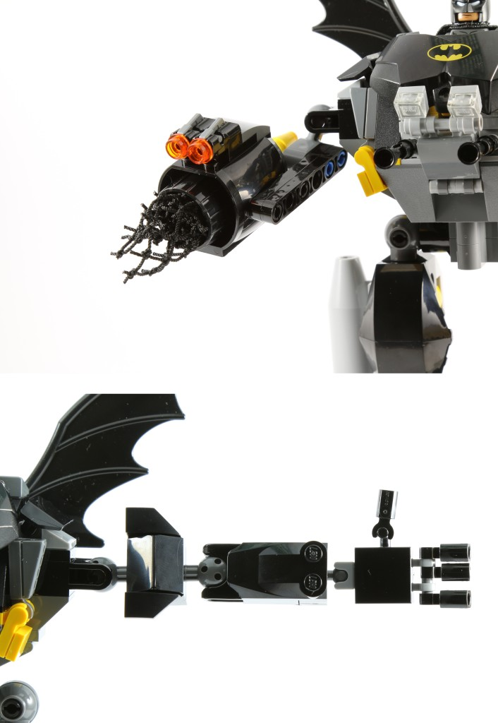 LEGO 76027 Gorilla Grodd Goes Bananas - Bat Mech Arms