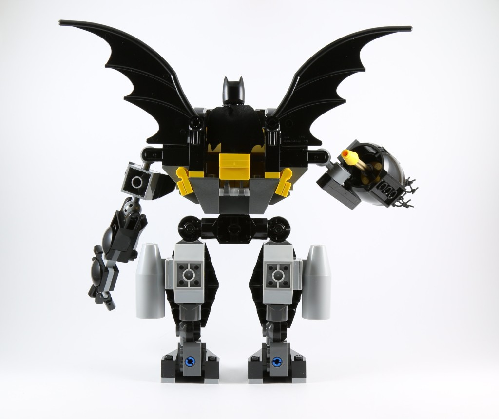 LEGO 76027 Gorilla Grodd Goes Bananas - Bat Mech Back