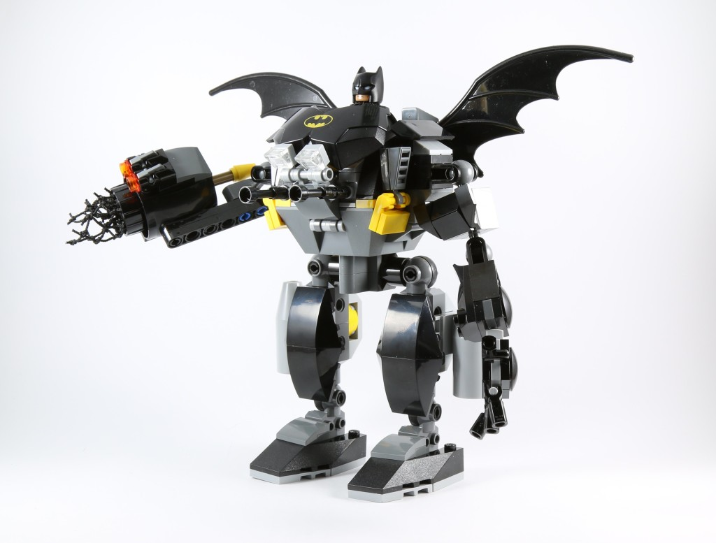 LEGO 76027 Gorilla Grodd Goes Bananas - Bat Mech Side
