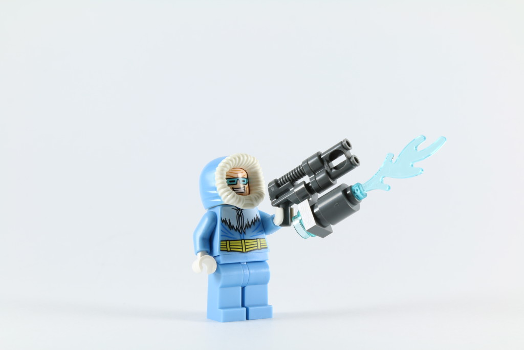 LEGO 76027 Gorilla Grodd Goes Bananas - Captain Cold Minifigure