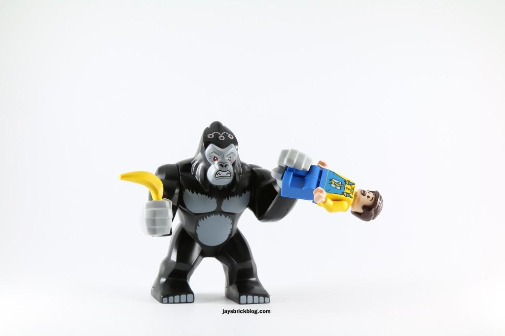 LEGO 76027 Gorilla Grodd Goes Bananas - Gorilla Grodd Going Bananas