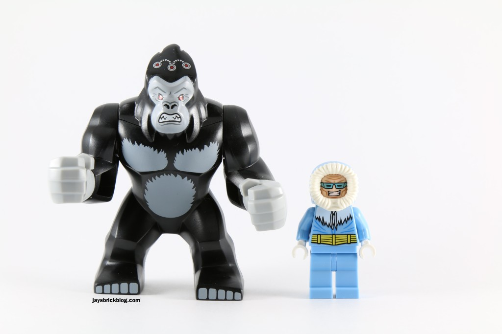 LEGO 76027 Gorilla Grodd Goes Bananas - Gorilla Grodd and Captain Cold