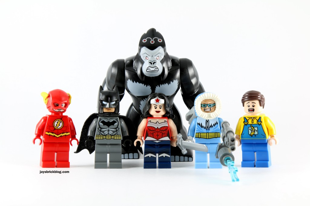 LEGO 76027 Gorilla Grodd Goes Bananas Minifigures
