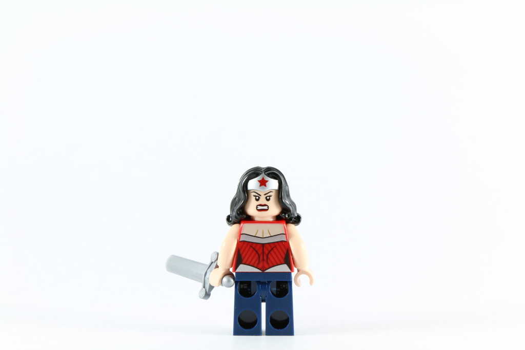 LEGO 76027 Gorilla Grodd Goes Bananas - Wonder Woman Minifig Back