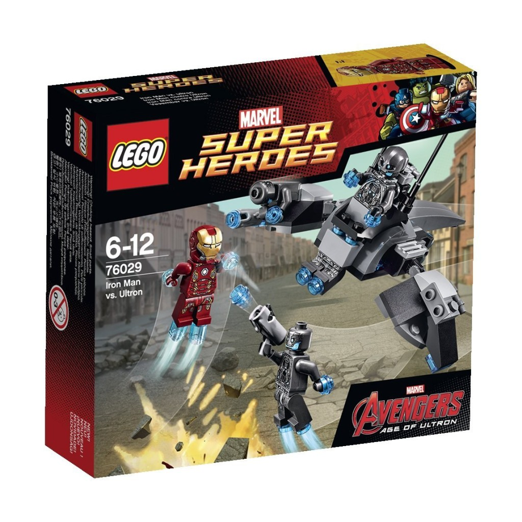LEGO 76029 Iron Man vs Ultron Box
