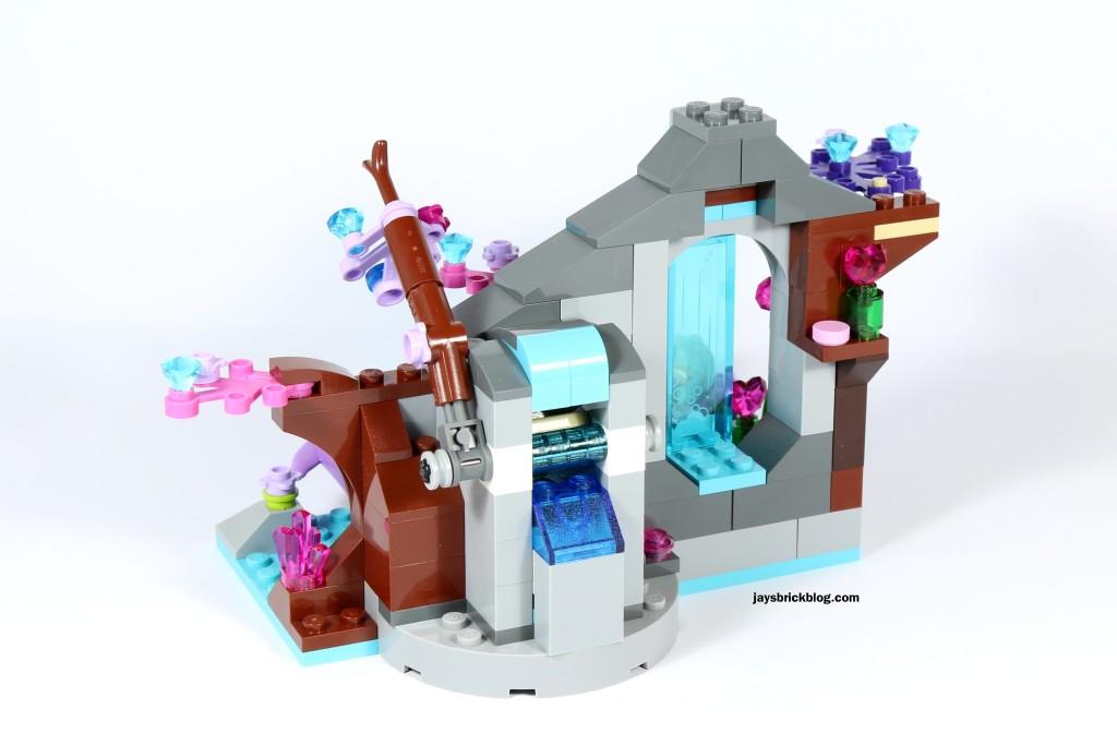 LEGO Elves 41072 Naida's Spa Secret - Back View