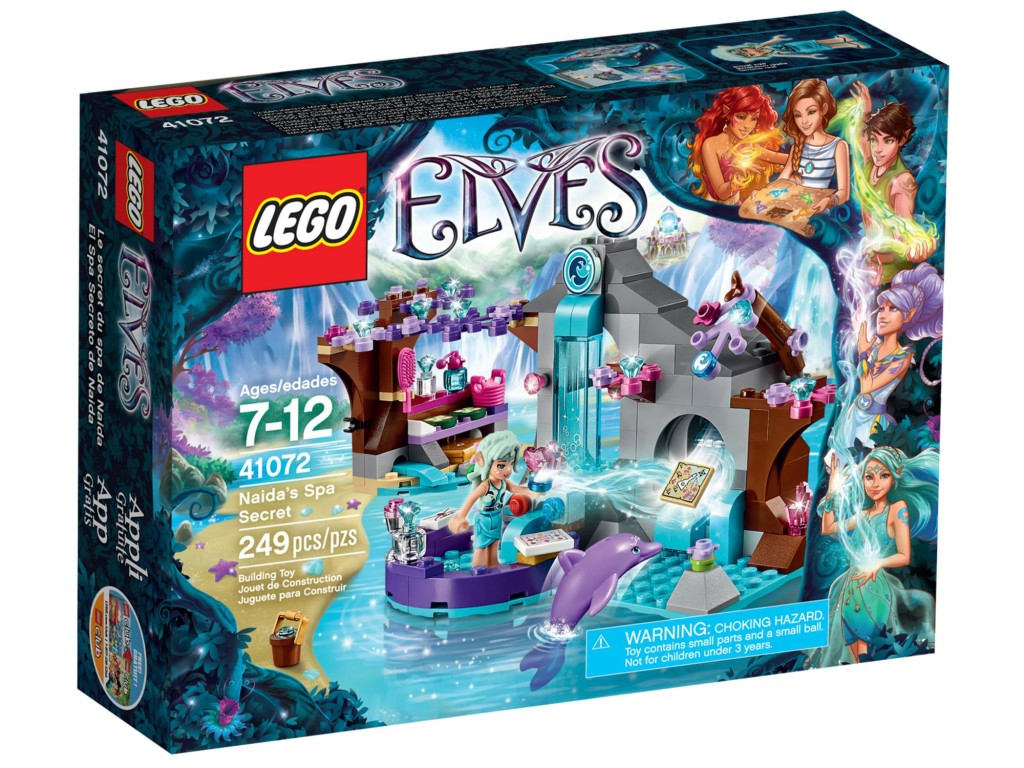 LEGO Elves 41072 Naida's Spa Secret Box