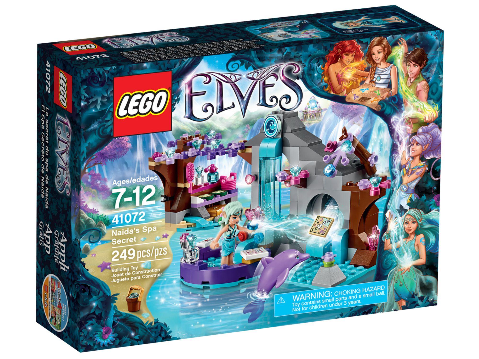 Fabriksnye Review: LEGO Elves 41072 Naida's Spa Secret – Jay's Brick Blog HH-91
