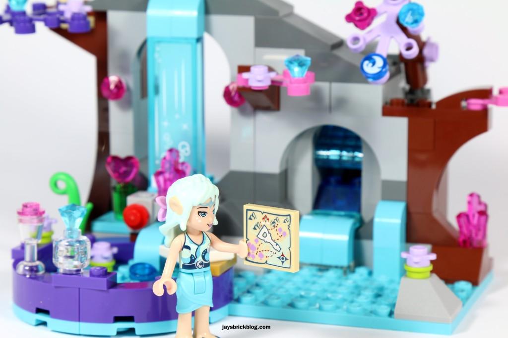 LEGO Elves 41072 Naida's Spa Secret - Hidden Map