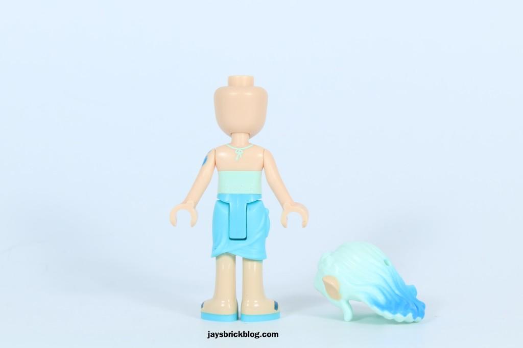 LEGO Elves 41072 Naida's Spa Secret - Naida Riverheart Back Printing