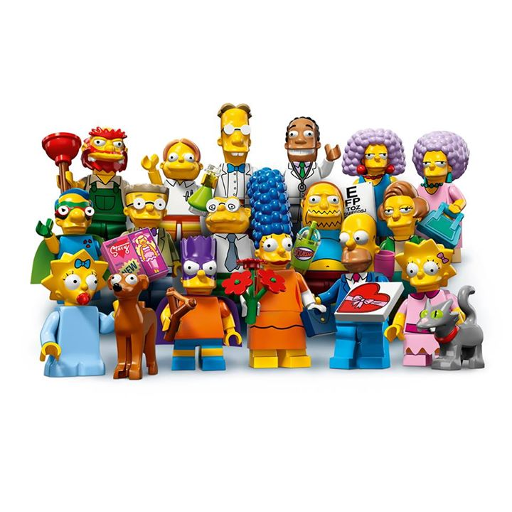 Lego Simpsons Minifigure Series 2 NEW Edna Krabappel