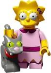 Lisa Simpson and Snowball