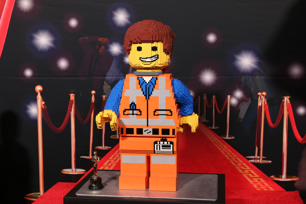 Emmet on the red carpet