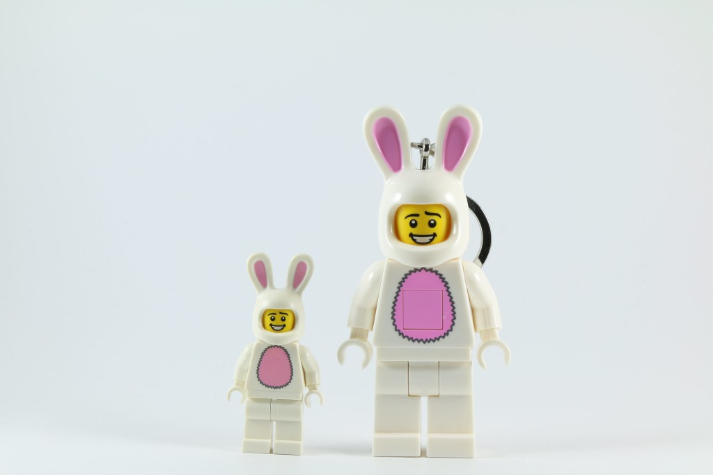 Giant LED LEGO Bunny Suit Guy
