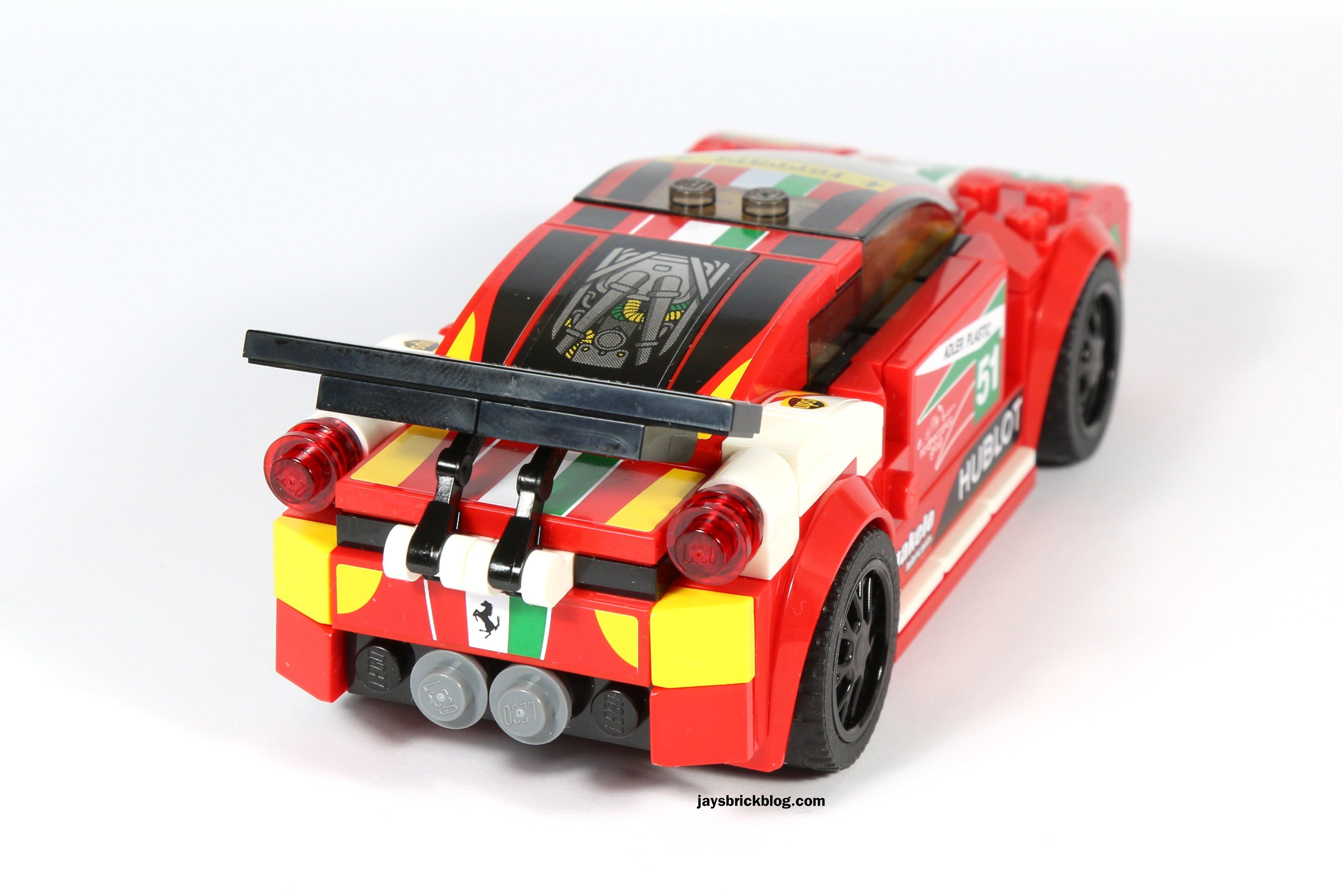 Review Lego 75908 Ferrari 458 Italia Gt2 Jay S Brick Blog