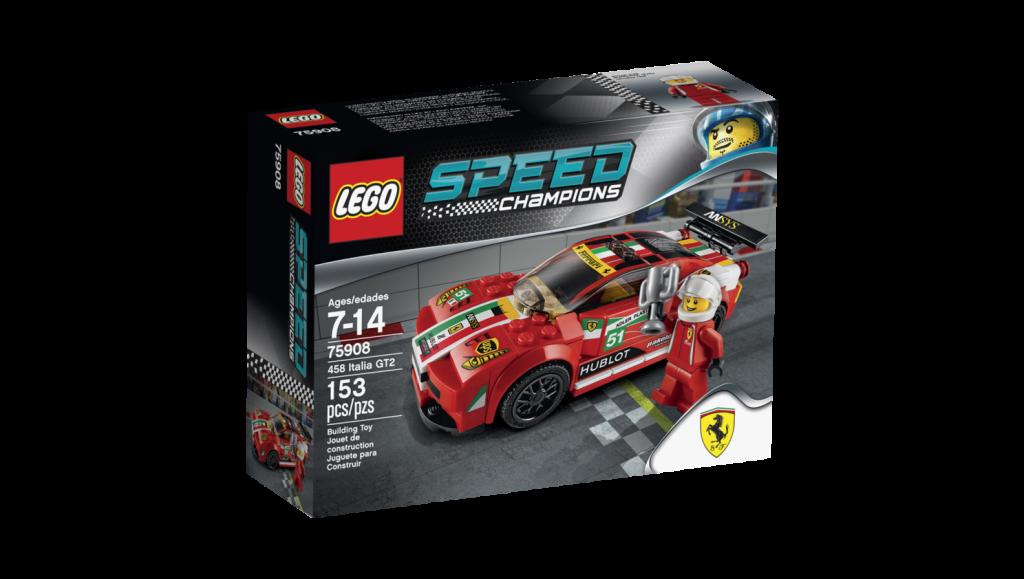 LEGO 75908 - Ferrari 458 Italia GT2 Box