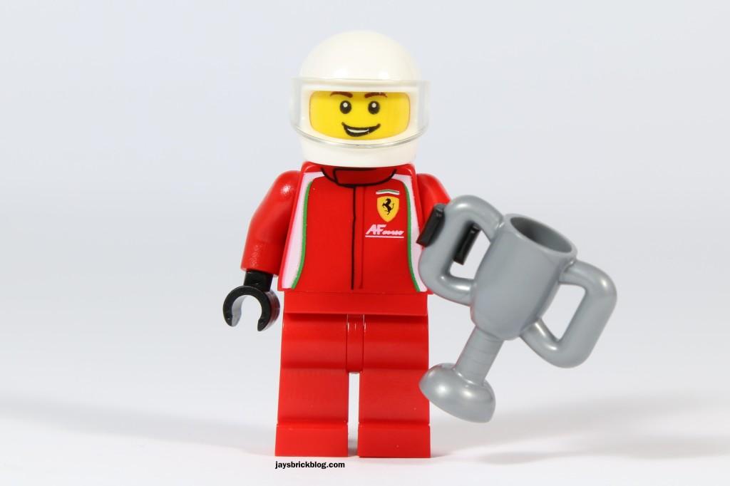 LEGO 75908 - Ferrari 458 Italia GT2 Driver Minifigure