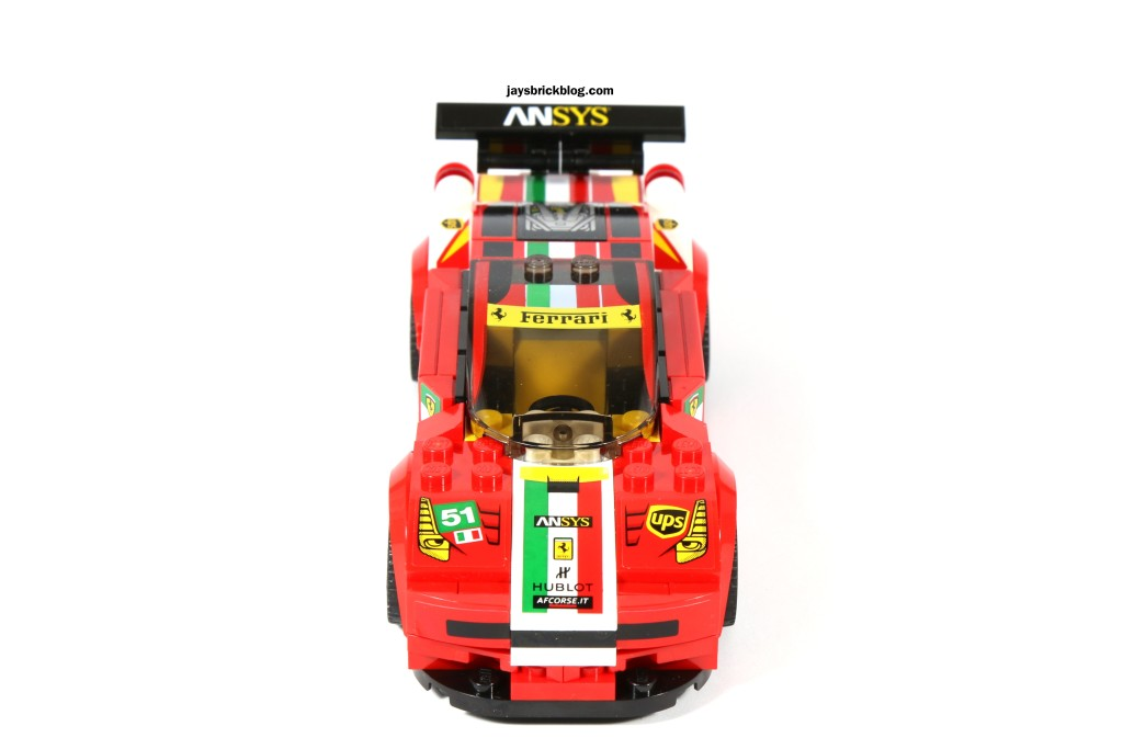 LEGO 75908 - Ferrari 458 Italia GT2 Front View